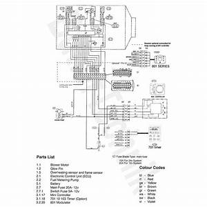 Espar D2 Wiring Diagram