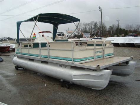 Pontoon Sports by Crest Sport Boats For Sale Boats