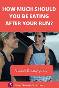 Are You Eating Enough After Your Runs