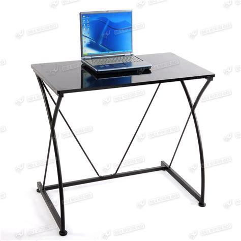 metal computer workstation desk space save small metal office computer desk table laptop