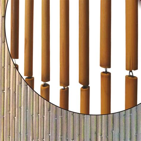 rideau de porte bambou rideau bambou mundu fr