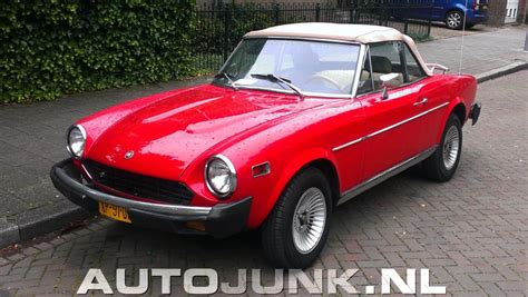 Fiat 124 Sport Spider by 1981 Fiat 124 Sport Spider 2000i Related Infomation
