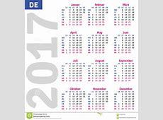German calendar 2017 stock vector Image of organizer