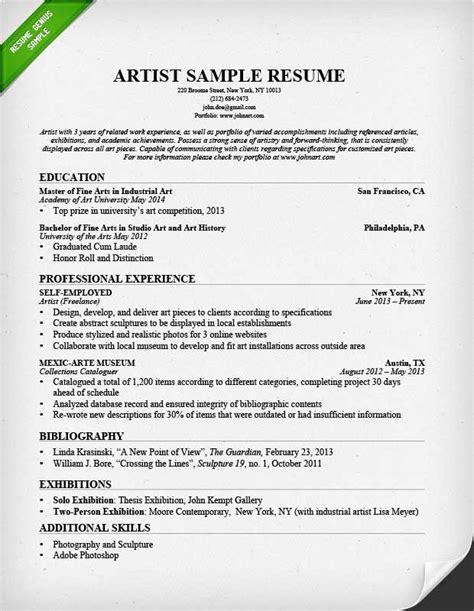resume sle template pdf 28 art resume sle 3d artist resume sle higher ed art resume sales art lewesmr