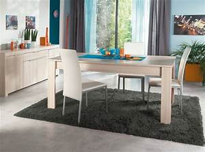conforama table de cuisine et chaises deco maison design With chaise salle a manger conforama
