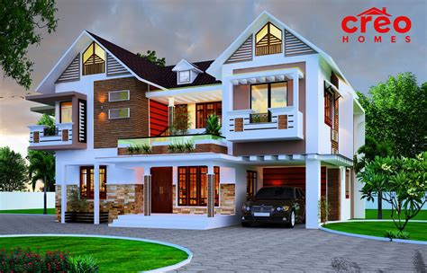 Home Design : Inspirational Exterior Designs Designed By Creo Homes