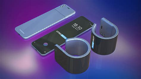 samsung galaxy band bend a phone your wrist