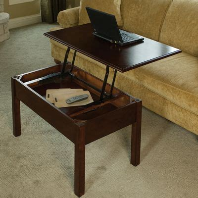 coffee table converts to desk convertible coffee table turns into a desk ohgizmo