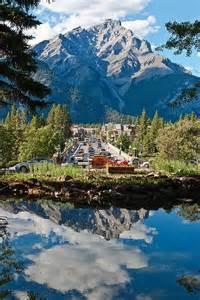 Banff Avenue Alberta Canada