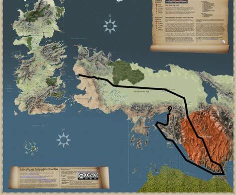Carte Monde Of Thrones by Carte Du Monde Of Thrones Carte 2018