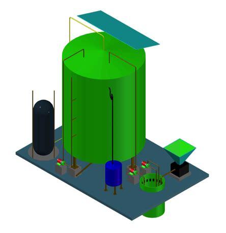 kitchen waste biogas plant design ahuja engineering services 8722