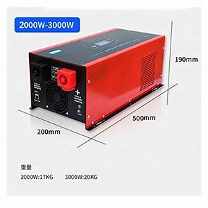 Zhiyangji Power Inverter Pure Sine Wave