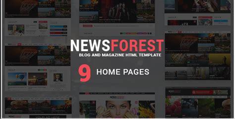 templates entertainment blog 10 best news blog magazine templates free website themes