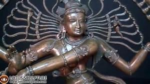 Bronze Shiva Nataraja Statue www.lotussculpture.com - YouTube