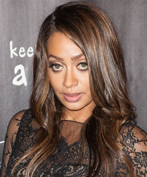 La La Anthony Long Straight Formal Hairstyle   Medium