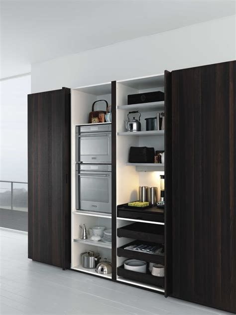 Contemporary Storage Cabinet Kitchen  Best Home