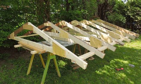 how to make a rafter for a shed diy outdoor wooden benches woodwork synonym how to make