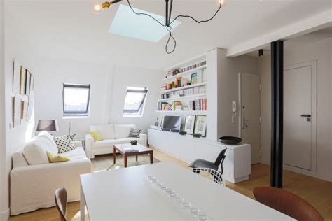 appartement spacieux  lumineux  scandinave