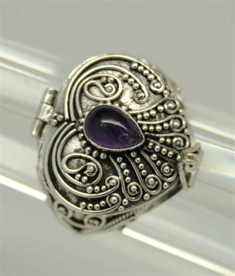 cremation urn ring amethyst silver cremation jewelry cremation ring urns ebay