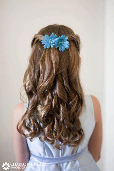 super cute  girl hairstyles  wedding deer