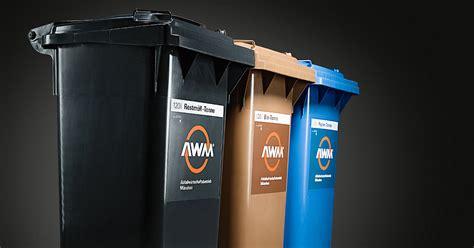 mülltonnenbox für 3 tonnen das 3 tonnen system awm abfallwirtschaftsbetrieb m 195 188 nchen