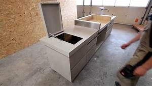 Arbeitsplatte Küche Betonoptik : outdoor k che in betonoptik von doovi ~ Sanjose-hotels-ca.com Haus und Dekorationen