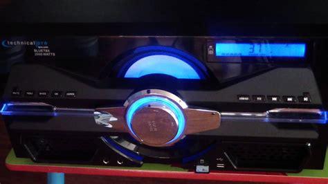 Technical Pro Blue Bluetooth Speaker Bluet8x 2000 Watts