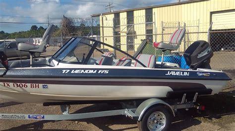Venom Boat by 1999 Used Javelin Venom 18fs Ski And Fish Boat For Sale