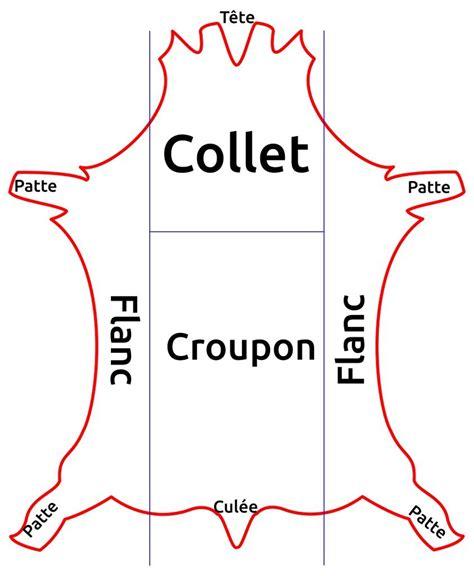 siege de table coupes du cuir collet dosset croupon