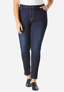 Skinny Jeans With Invisible Stretch Waistband By Denim 24