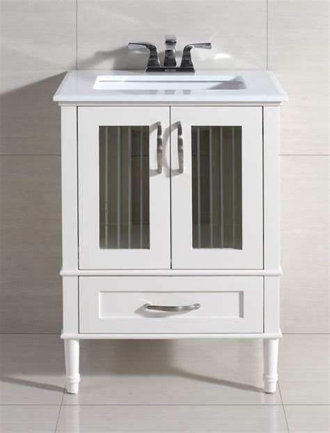 kendra 25 quot vanity set with marble top wayfair bathroom