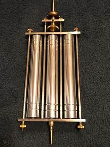 Large Waltham 3 Tube Mercury Pendulum  U0026 Rod Standard