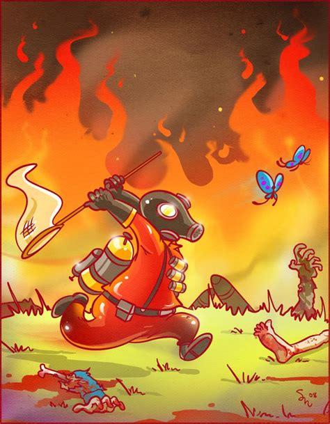 pyro  chemicalalia  deviantart team fortress