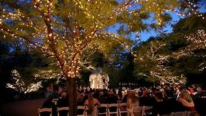 The estate at florentine gardens videography for Outdoor wedding reception lighting