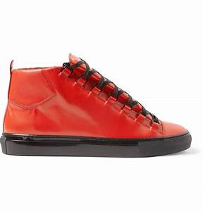 4d7da3c73537 High Top Balenciaga Sneakers. balenciaga leather high top sneakers ...