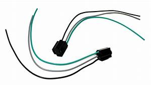 Universal Gm 3 Wire Headlight Connector H4 9003 3 Prong