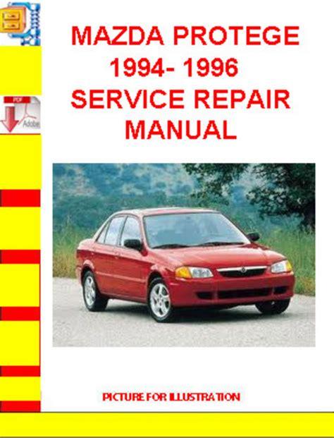 Mazda Protege Service Repair Manual Tradebit