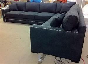 sectional sofa design nailhead sectional sofa fabric With grey sectional sofa with nailhead trim