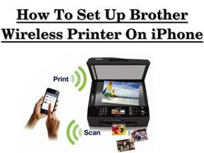 how to set up wireless printer on iphone