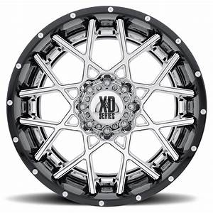 XD Series by KMC XD203 Chopstix Wheels | Down South Custom ...