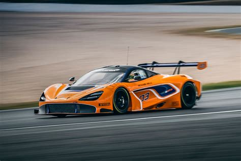Mclaren 720s Gt3 Race Car On Track For 2019 Debut With