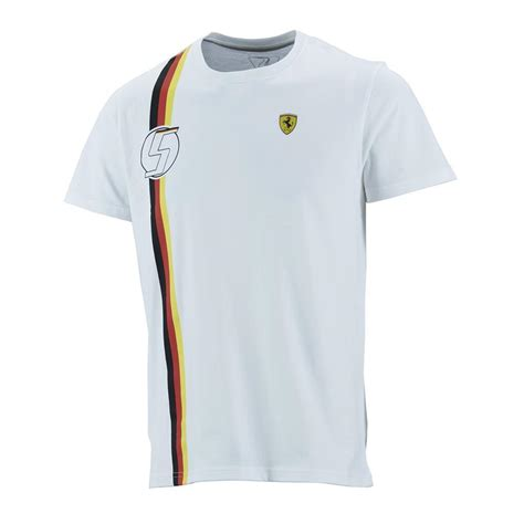 ferrari clothing sebastian vettel german flag mens t shirt 2015 f1