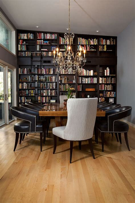 25 Dining Rooms And Library Combinations, Ideas, Inspirations. Led Lights Under Cabinets Kitchen. Eclectic Kitchen Cabinets. Best Under Cabinet Kitchen Lighting. Custom Size Kitchen Cabinets. Kitchen Cabinet Lowes. Handles For Kitchen Cabinets And Drawers. Can We Paint Kitchen Cabinets. Dark Cabinets Kitchen Ideas