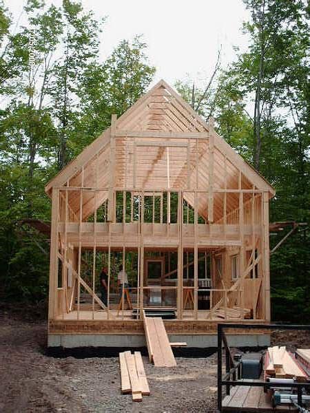 framing   story house framing  story cabin  story cabin treesranchcom