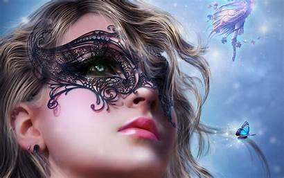 Mask Wallpapers Masks Face Masquerade Woman Definition