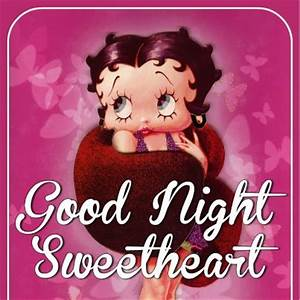 Good Night Sweetheart -- Betty Boop :: Bye ...