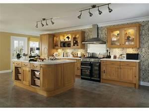 cuisine en chene massif moderne maison design bahbecom With cuisine en chene