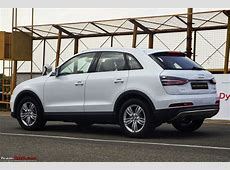 2014 Audi Q3 Dynamic Official Review TeamBHP