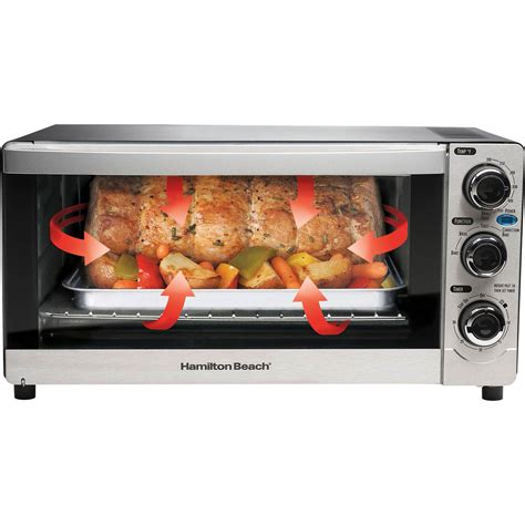 Cool Toaster Oven by Hamilton Cool Touch 6 Slice Toaster Oven Toasters