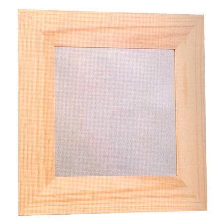 support 224 d 233 corer en bois cadre bois plat plexi 38 x